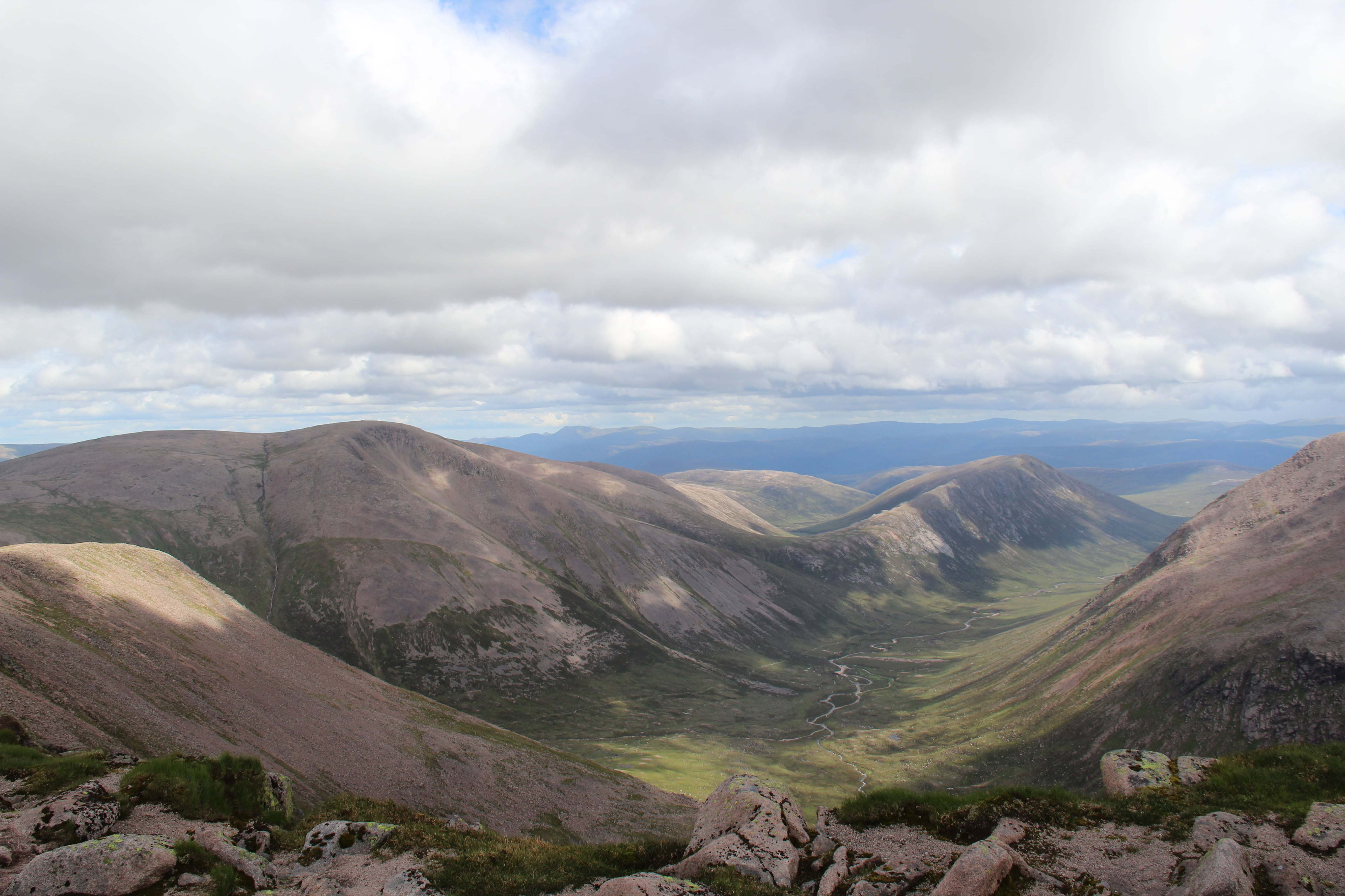 View of the Larig Ghru