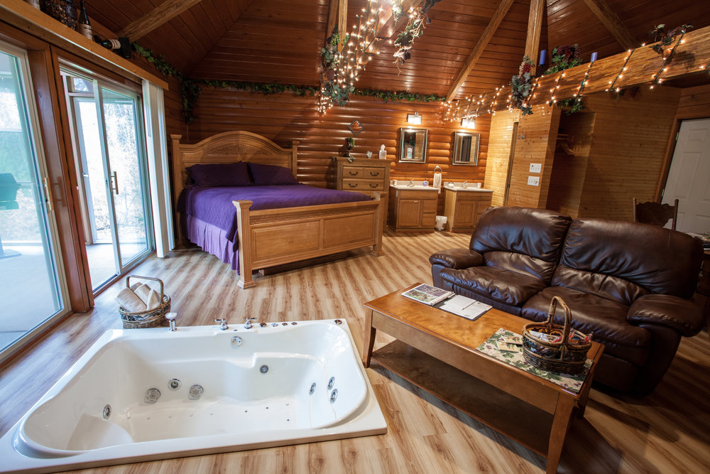 Serenity Springs Romantic Getaway Cabins For 2