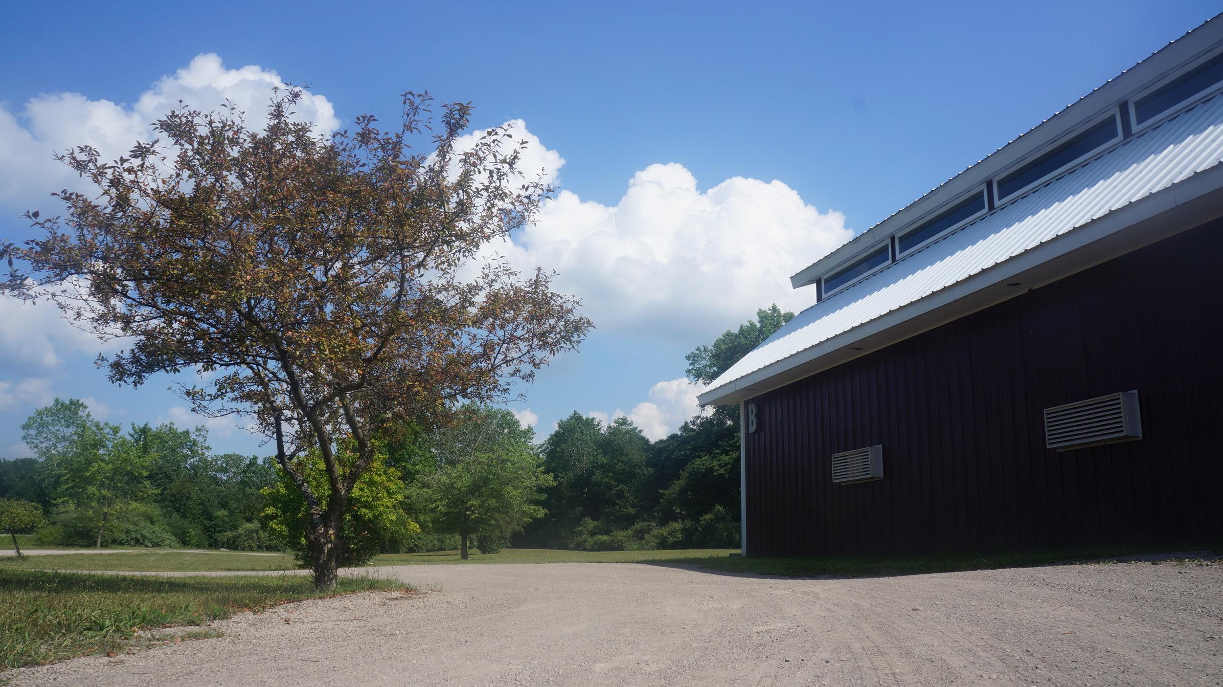 The barn at Serenity Springs