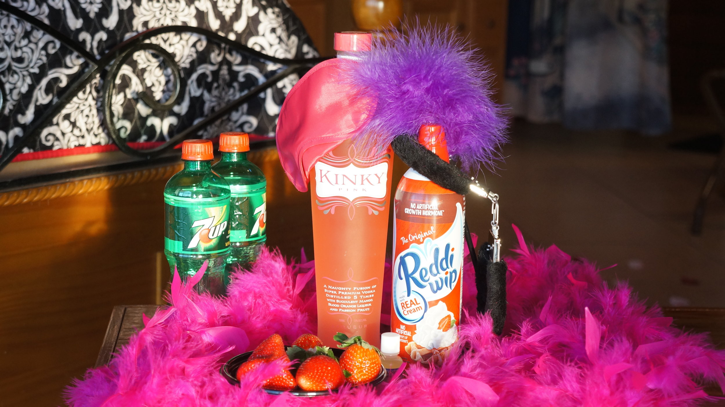 The Kinky Package available at Serenity Springs.