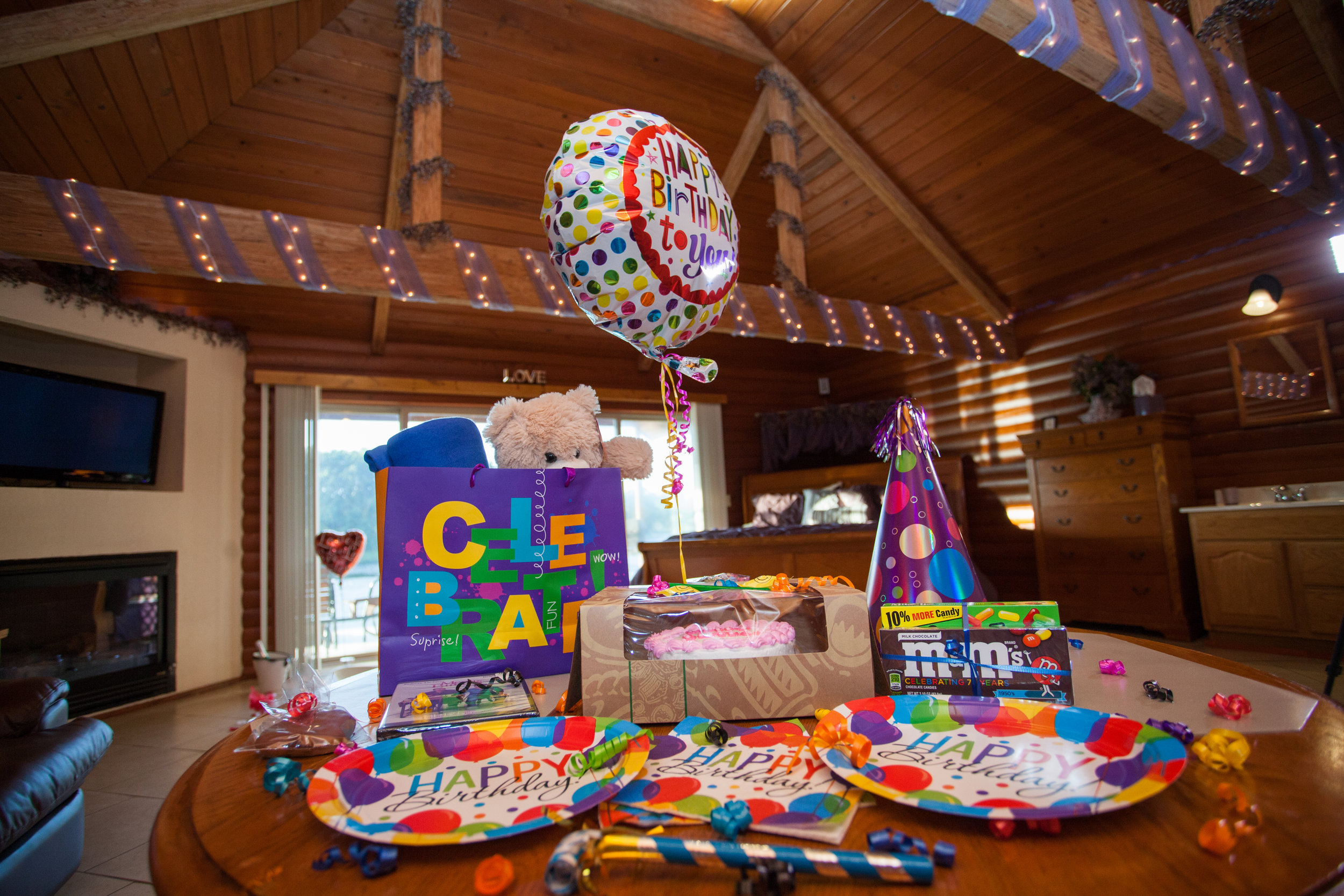 Birthday add-on package from Serenity Springs.