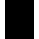 Gas campfire icon
