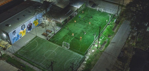 Toros Lifestyle Soccer Fields in Houston, TX Downtown