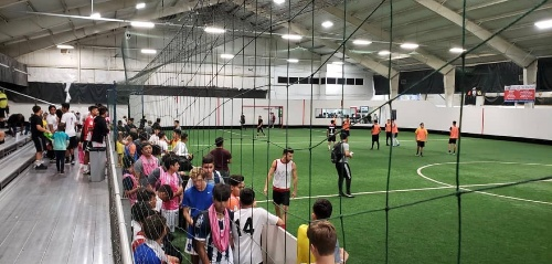 Northwest Indoor Soccer Fields in Houston, TX part of the Let's Play Soccer Company