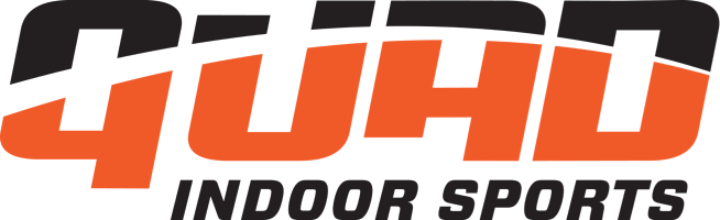 Quad Indoor Sports Soccer Fields Logo in Chicago Evanston IL