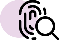 image of the fingerprint icon