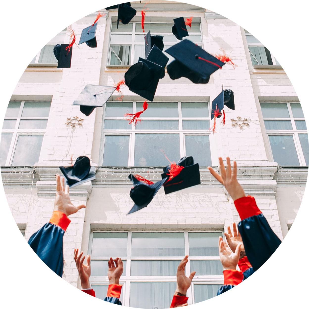 image of a university graduation