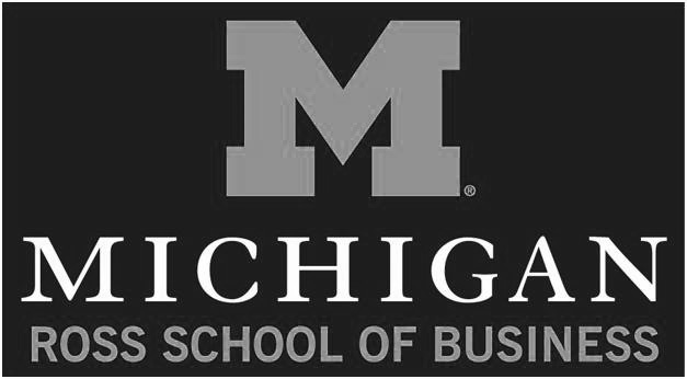 image of michigan ross school logo
