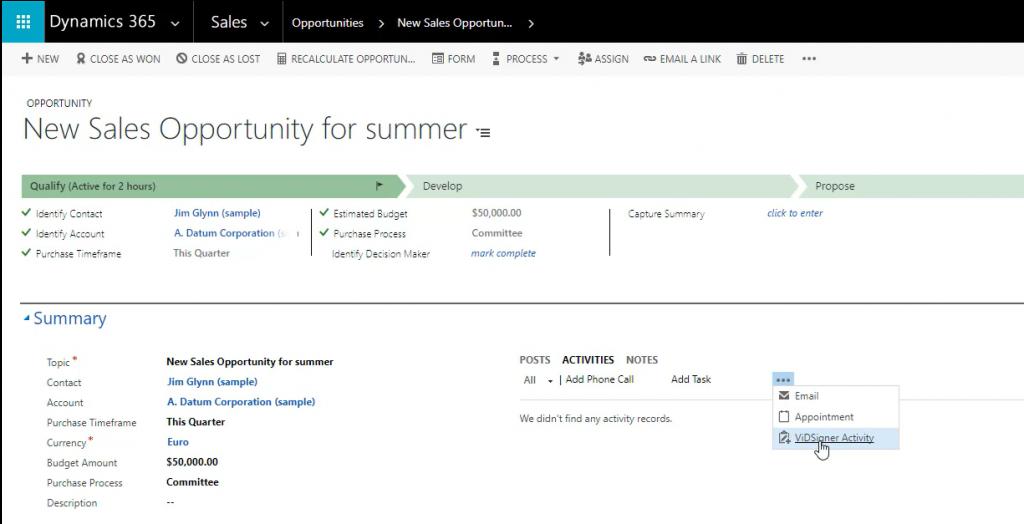 , Firma tus documentos directamente desde Dynamics 365 con ViDSigner