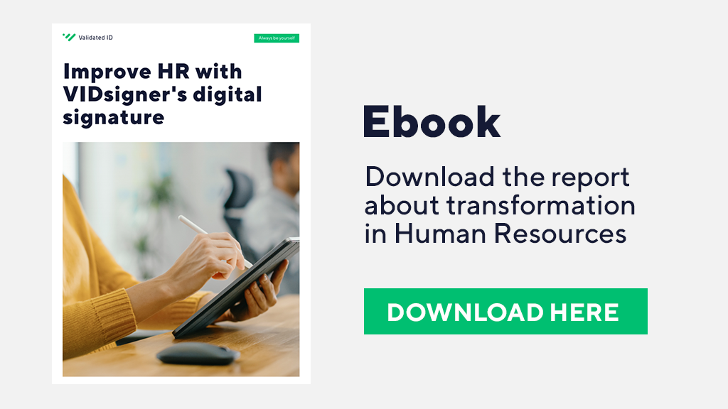 Digital Signature in Human Resources