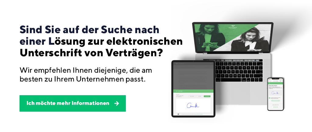 digitale Signaturen im Tourismussektor
