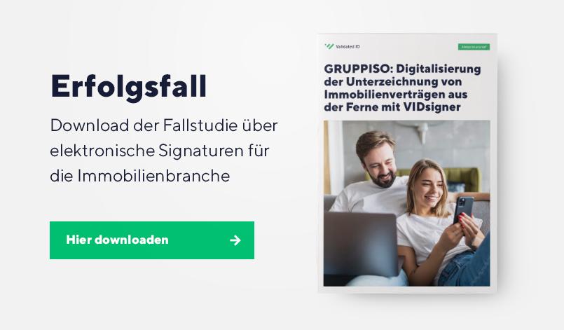 Digitale Signaturen in der Immobilienbranche