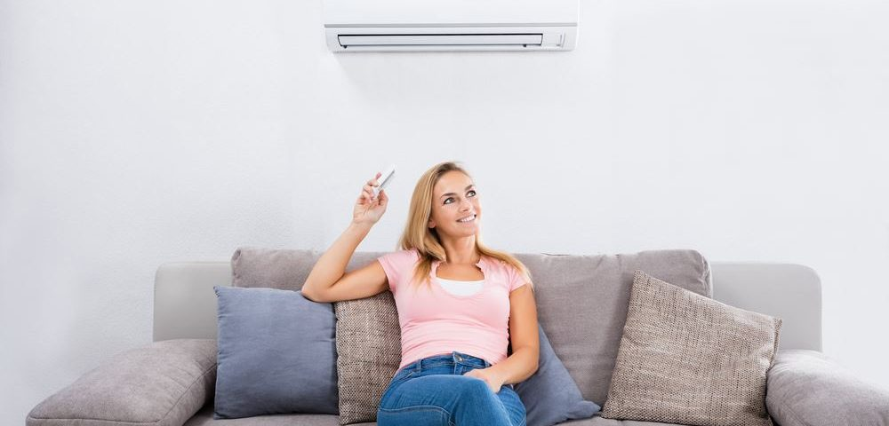 Keeping cool with a ductless air conditioning unit from Green Heating and Air