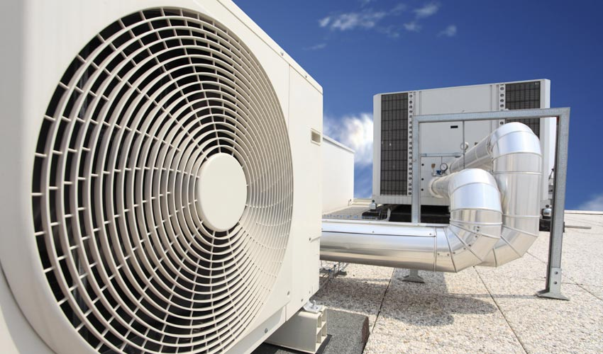 Commerical rooftop heating