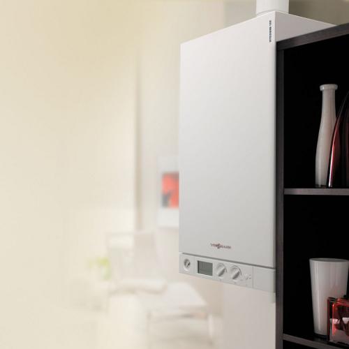 Green Heating and Air_Viessman Boiler Installation