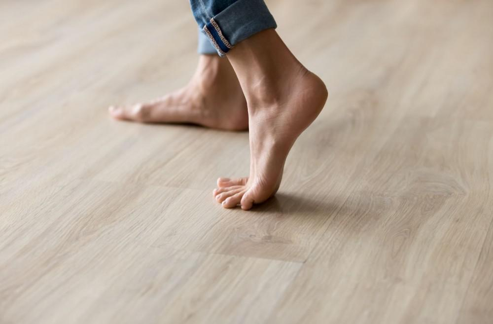 Comfortable radiant flooring