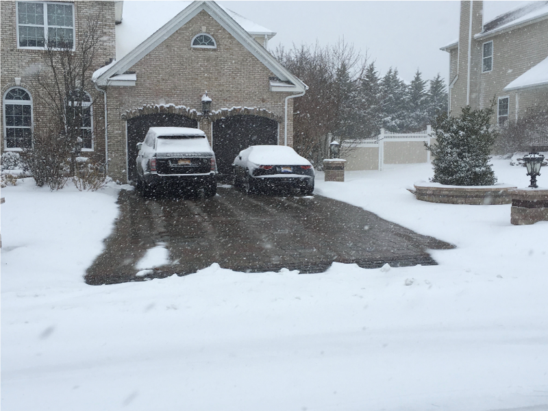 Snow Melting System for Driveway