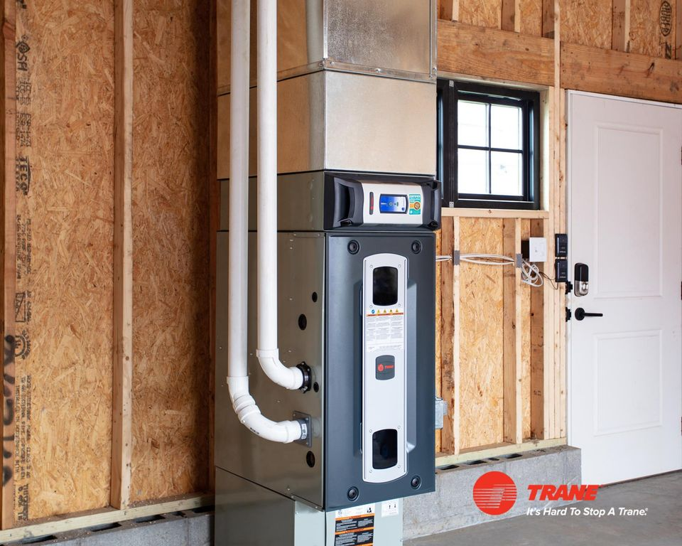 Trane Furnace Pair with Cleaner