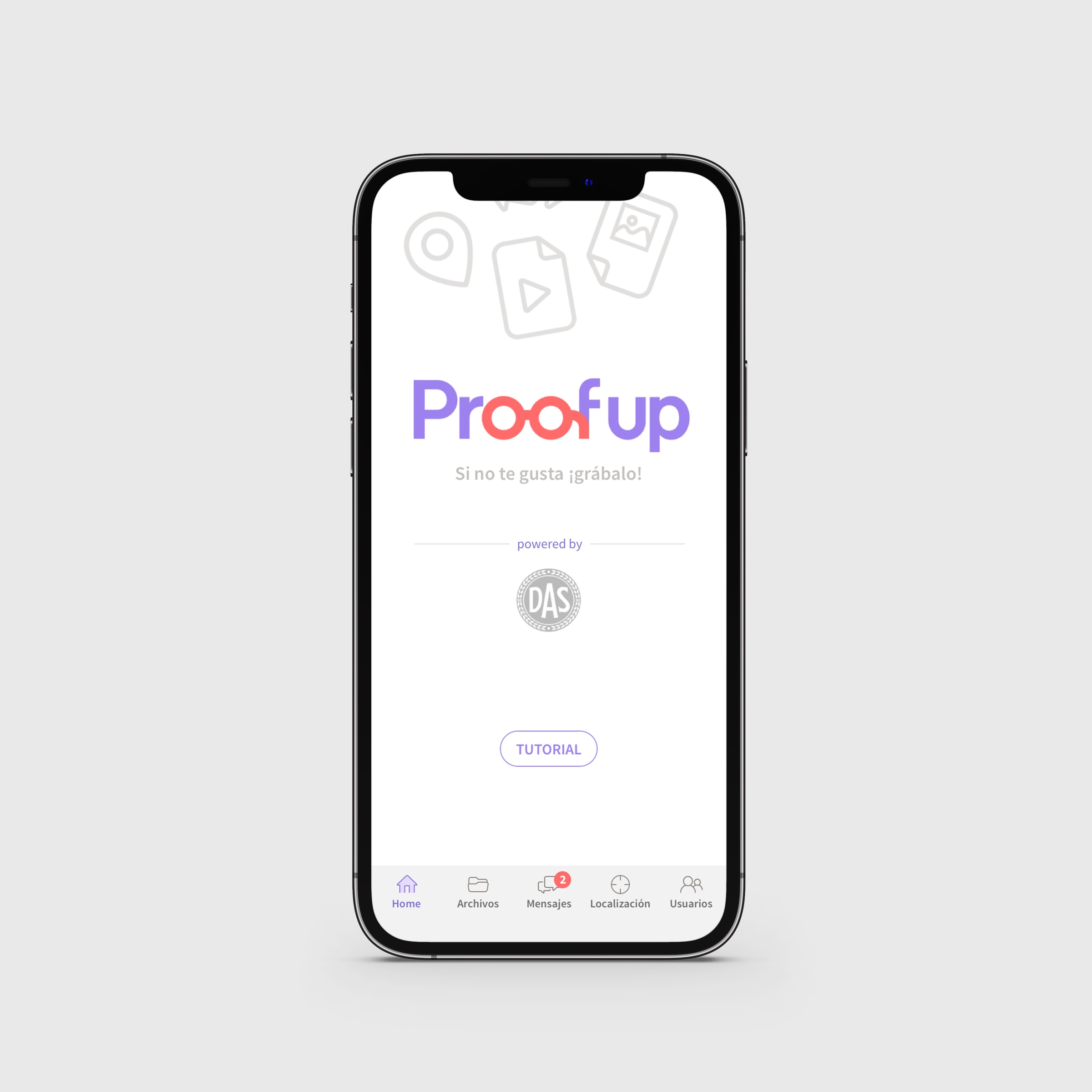 App PROOFUP
