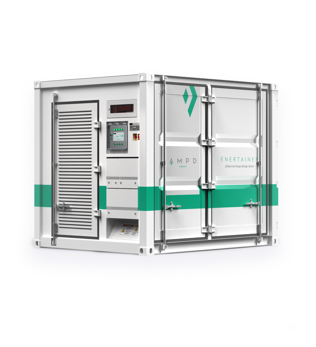 The Enertainer, a battery energy storage system (BESS)