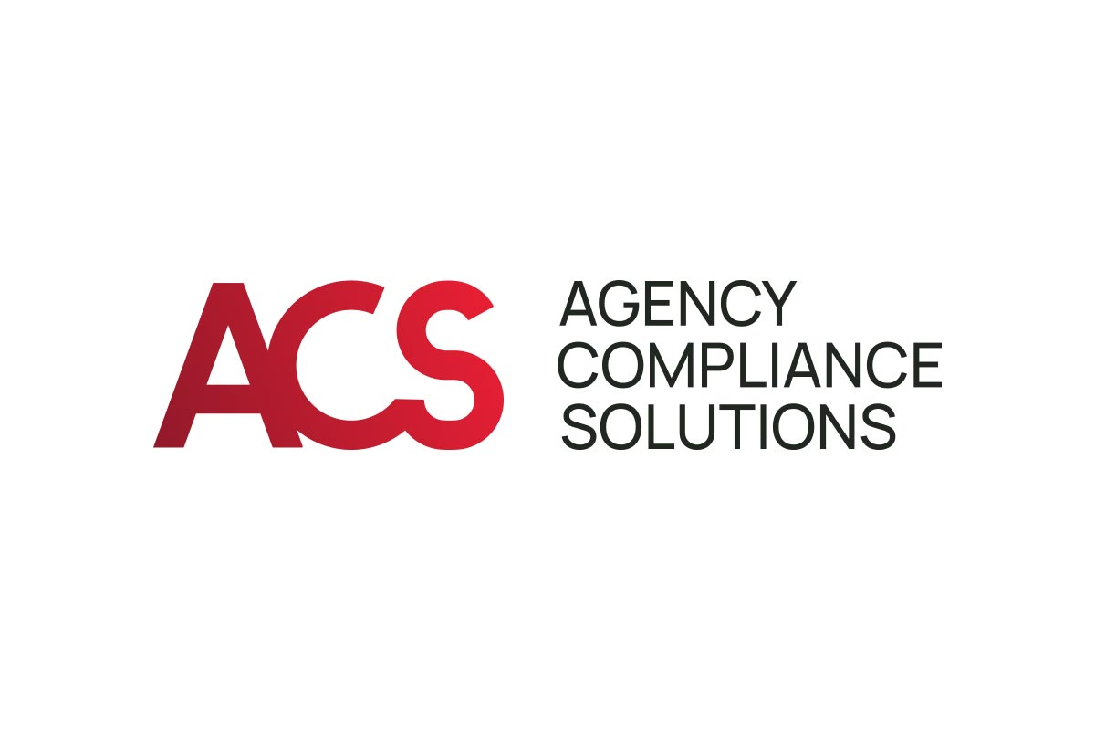 Agency Compliance Solutions Logo - Full colour main version on white background
