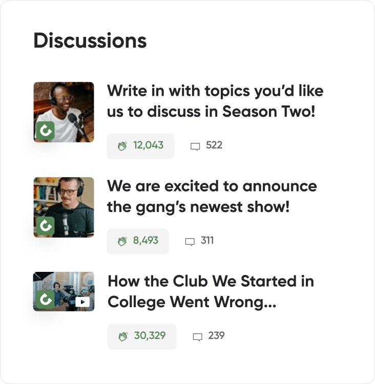 Join meaningful conversations with creators, provide reviews and feedback, and share your excitement with the rest of the community on Special Project.