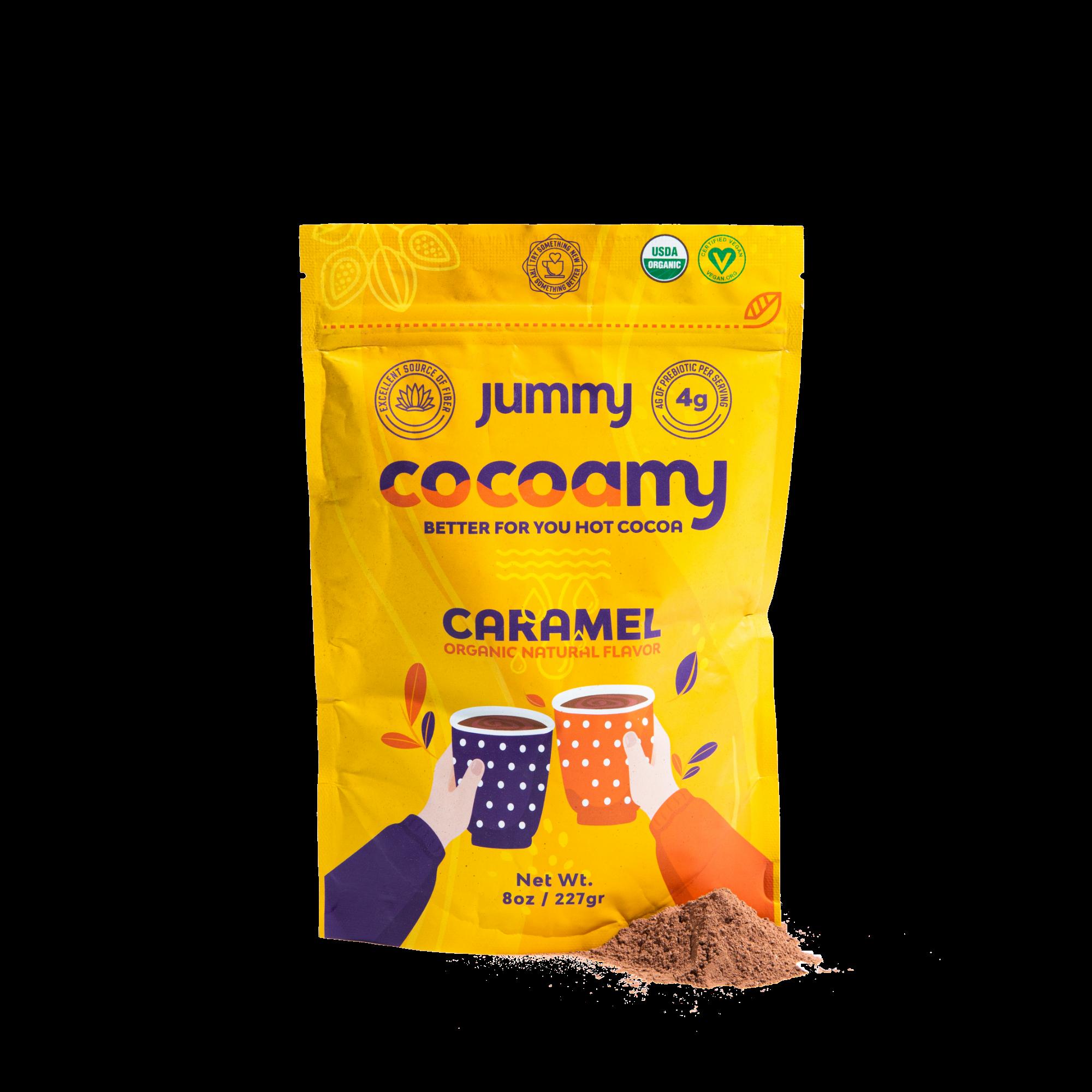 Jummy - Cocoamy Organic Hot Cocoa Caramel Flavor