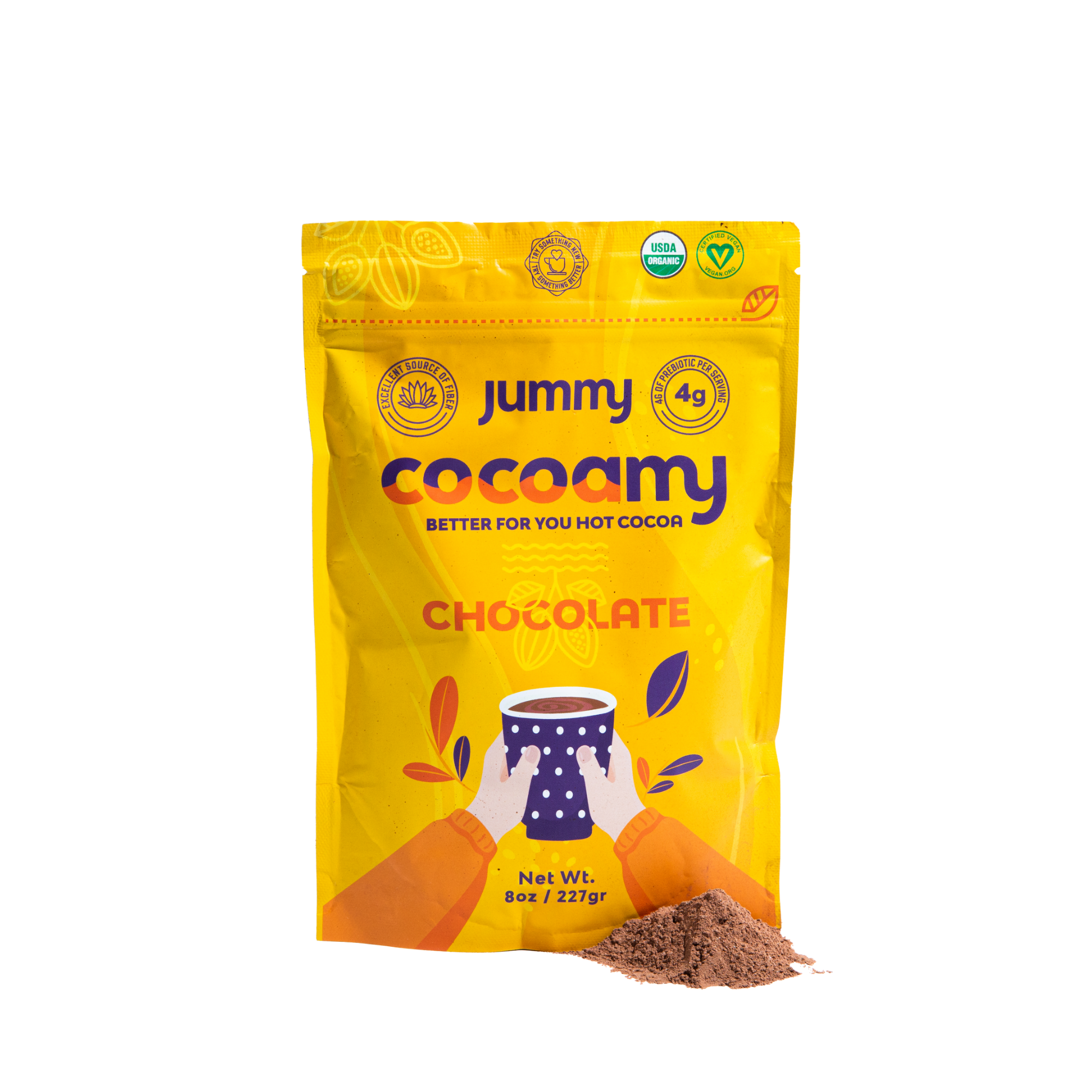 Cocoamy - Organic Hot Cocoa Chocolate Flavor