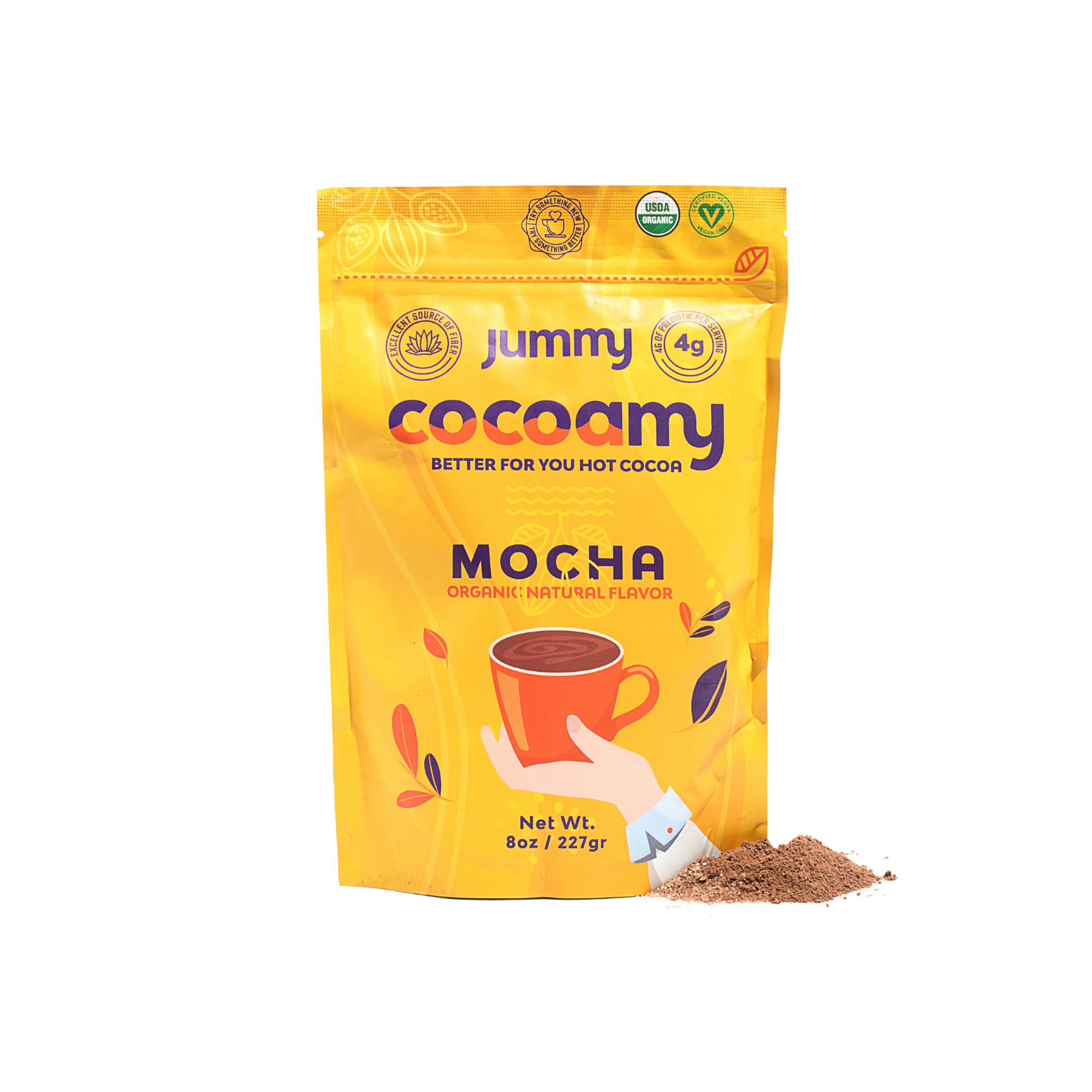 Jummy - Cocoamy Organic Hot Cocoa Mocha Flavor
