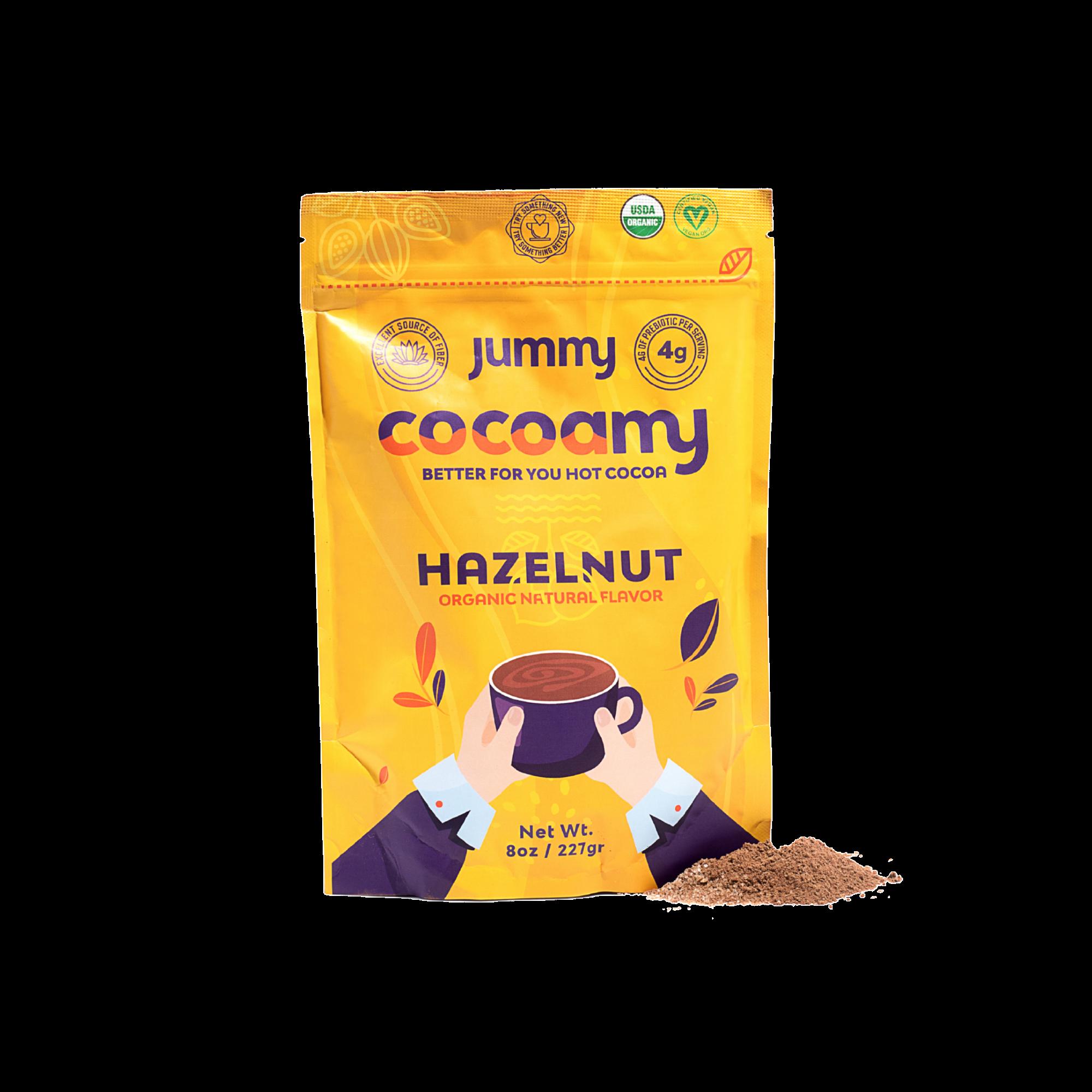 Jummy - Cocoamy Organic Hot Cocoa Hazelnut Flavor