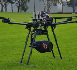 ICC Drone at Womens World Cup 2020