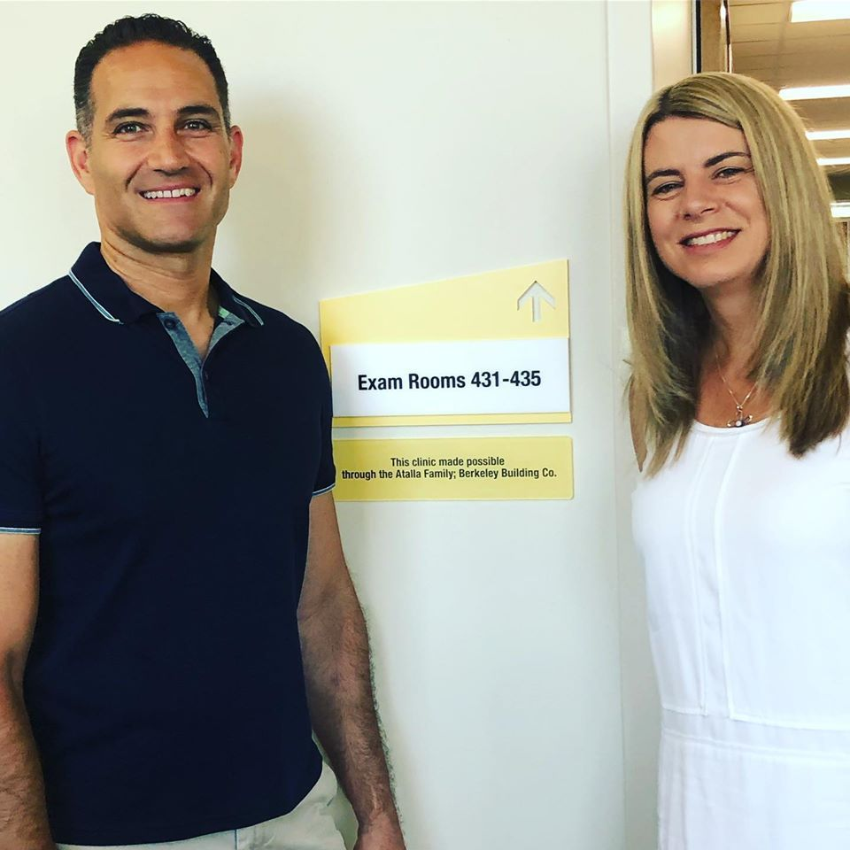 The Founder and Director of Finances at Berkeley Building Co. Joe and Heather Atalla.