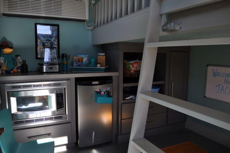 Make a wish tiny home interior