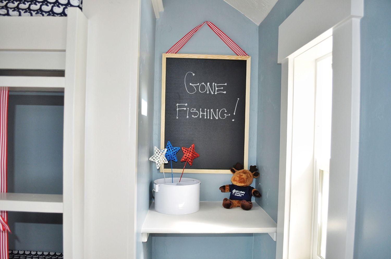 interior image of Make a wish tiny home.