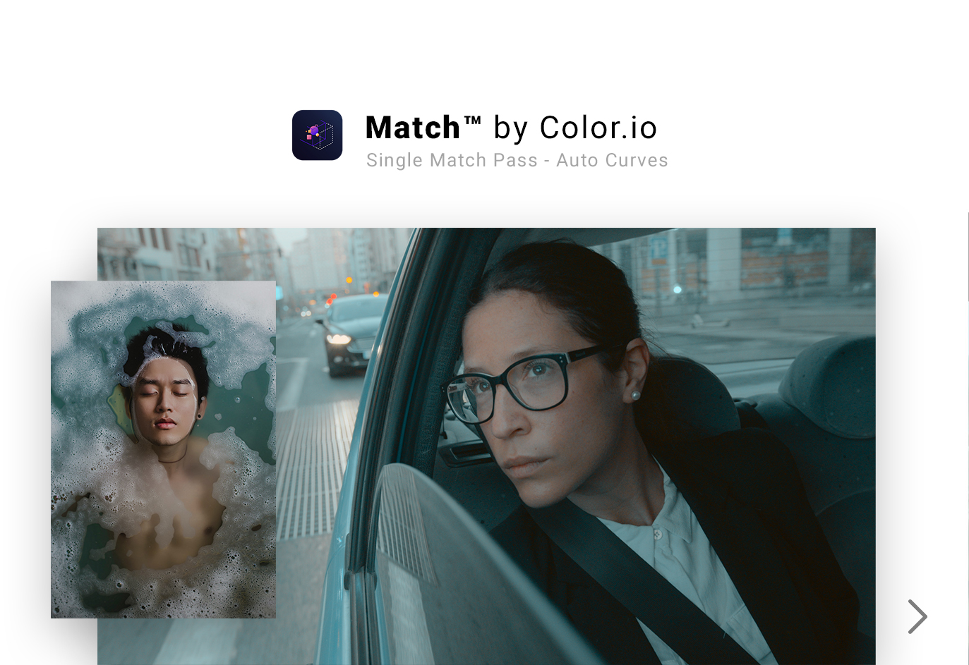 AI Color Grading - Color Match generated by Match.color.io