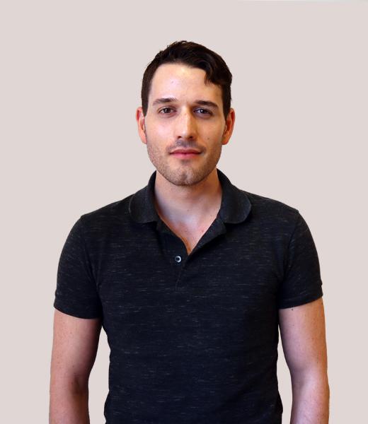 Portrait photo of Noah Scott, Product Design Lead at MAKE Studios Hong Kong.