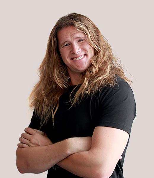 Funny portrait photo of Daniel Christiansen, Service Designer at MAKE Studios Melbourne.