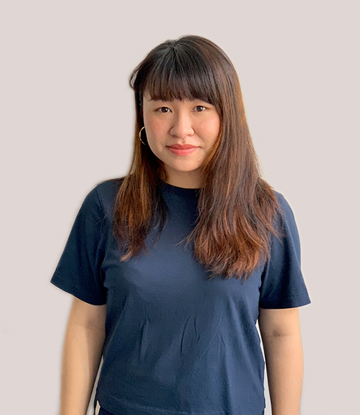 Portrait photo of Jenny Lim, Service Designer at MAKE Studios Hong Kong.