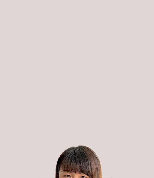 Funny portrait photo of Jenny Lim, Service Designer at MAKE Studios Hong Kong.