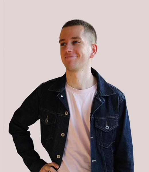 Portrait photo of Samuel Horman, Service Designer at MAKE Studios Melbourne.