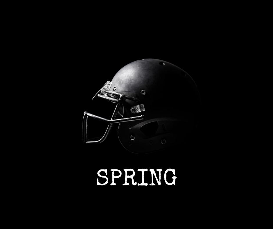Football Helmet - Spring