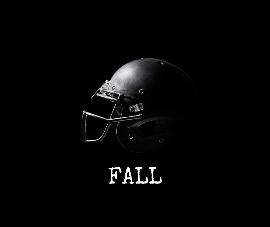 Football Helmet - Fall