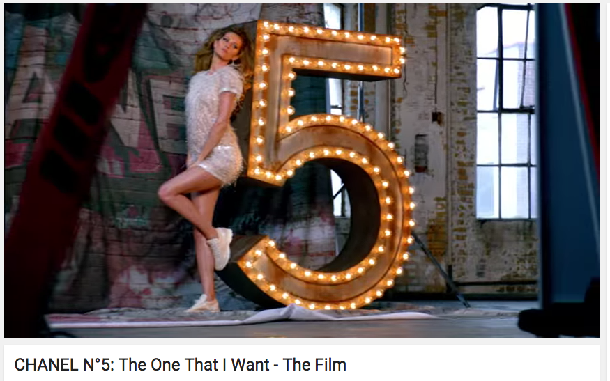 Chanel video marketing