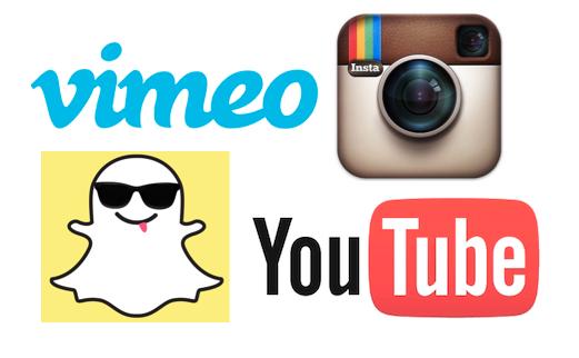 Social Media Video Icons