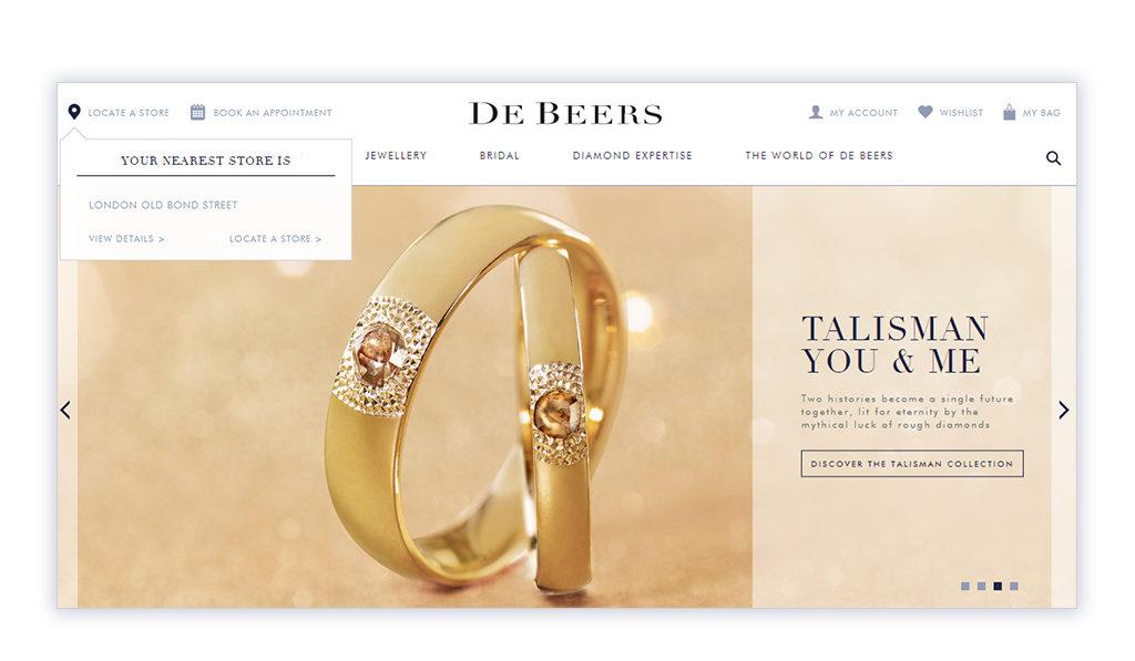 DeBeers Website Refresh