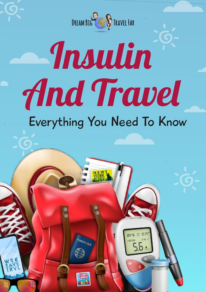 cover of insulin & travel eBook