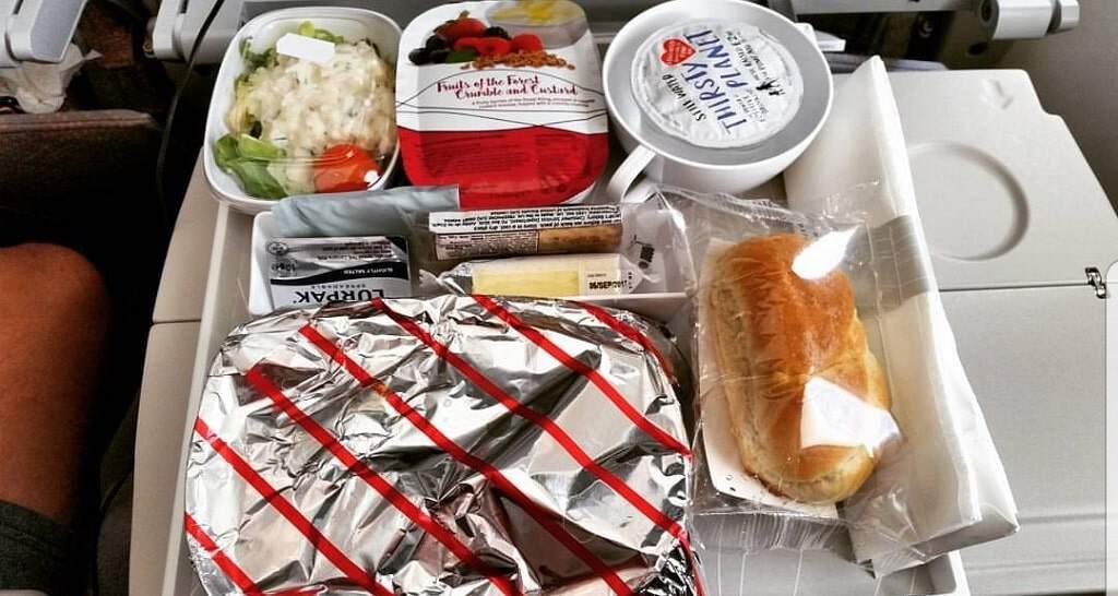 aeroplane food carbohydrates