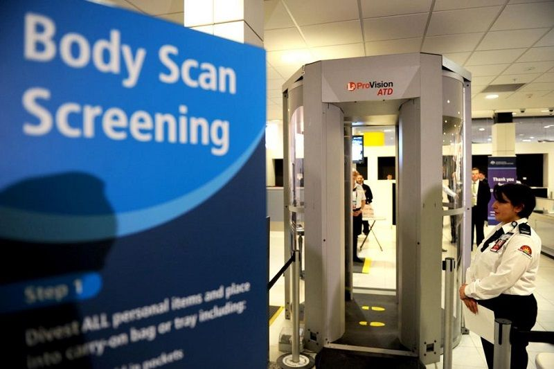 full body scanner airport security