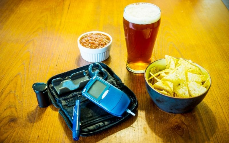 drinking beer with diabetes