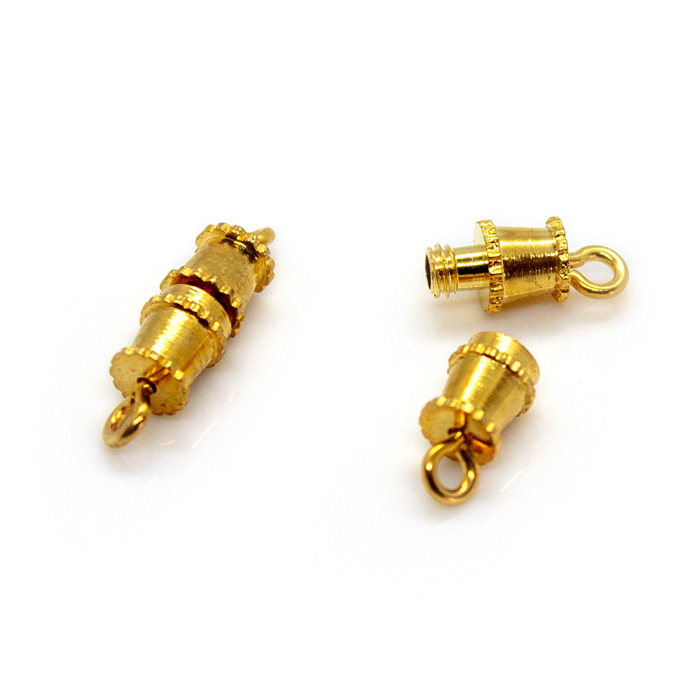Barrel Clasp - 13x4mm